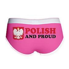 Polish And Proud Women's Boy Brief