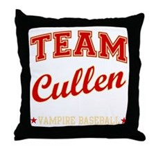 team-cullen Throw Pillow