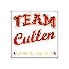 "team-cullen Square Sticker 3"" x 3"""