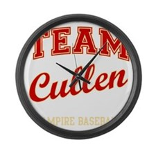 team-cullen Large Wall Clock