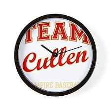 team-cullen Wall Clock