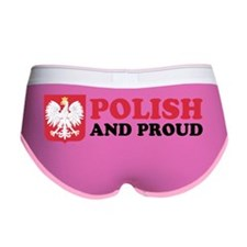 Polish And Proud Beer Stein Women's Boy Brief