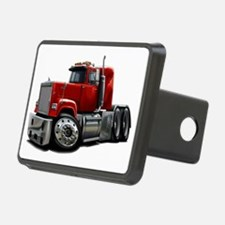 Mack Superliner Red Truck Hitch Cover