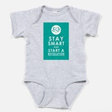 LOVE REVOLUTION Awesome Aqua Baby Bodysuit