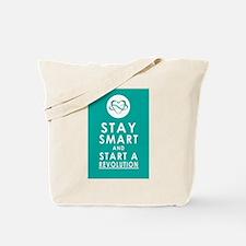 LOVE REVOLUTION Awesome Aqua Tote Bag