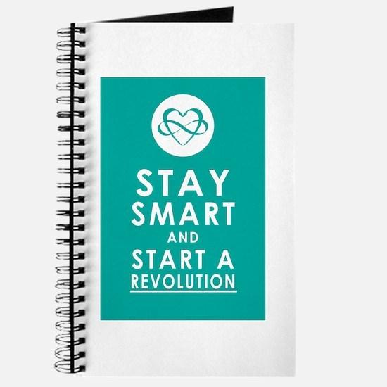 LOVE REVOLUTION Awesome Aqua Journal
