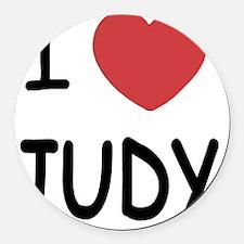 JUDY01 Round Car Magnet