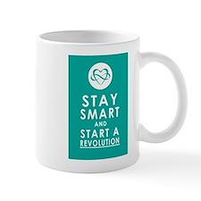 LOVE REVOLUTION Awesome Aqua Mug