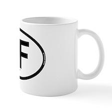 niagara falls oval 1 Mug