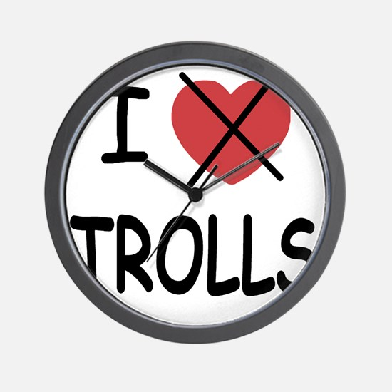 1_blank_hate_TROLLS01 Wall Clock