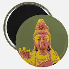 Buddha Warhol style Magnet