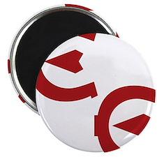 EE logo red Magnet