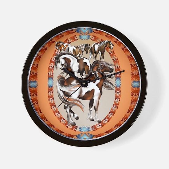 Big Box Of Paints-circle2 Wall Clock