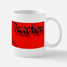 Anti-War sticker Mug