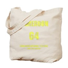 Cameroon football vintage Tote Bag