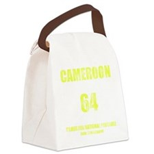 Cameroon football vintage Canvas Lunch Bag
