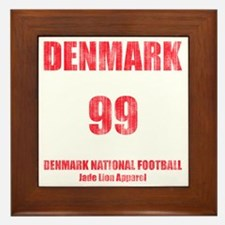Denmark football vintage Framed Tile
