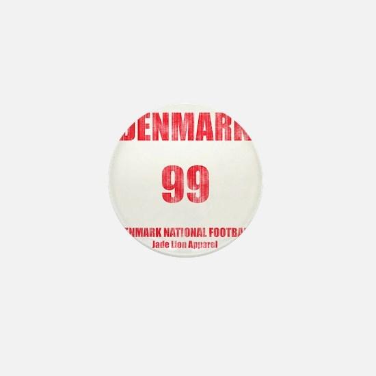 Denmark football vintage Mini Button