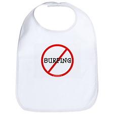 NO BURPING Bib
