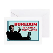 BOREDOM Greeting Cards (Pk of 10)