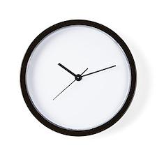 EE logo white Wall Clock