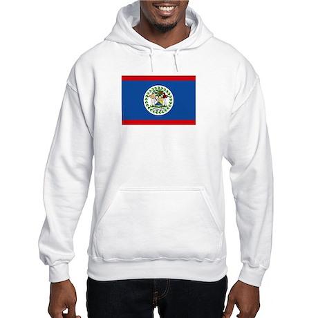 Belize Nal flag Hooded Sweatshirt