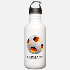 SOCCER BALL WITH GERMA Water Bottle