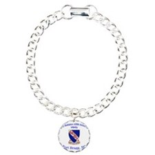 2nd Bn 508th ABN Charm Bracelet, One Charm