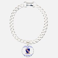 2nd Bn 508th ABN Charm Bracelet, One Charm