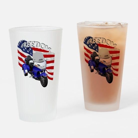 AB08 C-2K FREE BLUE Drinking Glass
