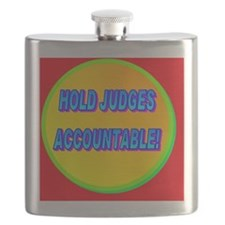 HOLD JUDGES ACCOUNTABLE!(banner) Flask