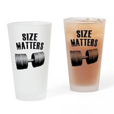 size-matters Drinking Glass