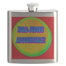 HOLD JUDGES ACCOUNTABLE!(wall calendar) Flask