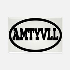 Amityville Rectangle Magnet