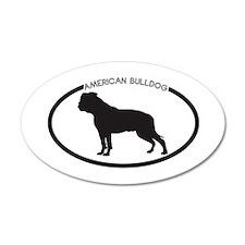 American-Bulldog Wall Decal