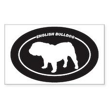 English-Bulldog Decal