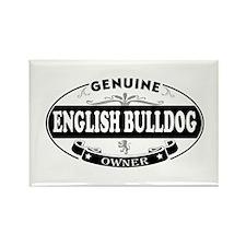 English-Bulldog Rectangle Magnet