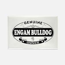 Engam-Bulldog Rectangle Magnet