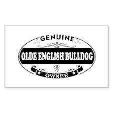Olde-English-Bulldog Decal