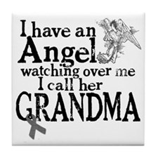 grandma angel Tile Coaster