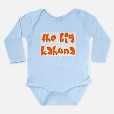 big kahuna Long Sleeve Infant Bodysuit