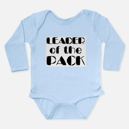 leader of pack Long Sleeve Infant Bodysuit