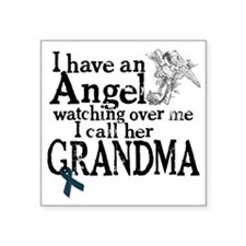 "grandma angel Square Sticker 3"" x 3"""