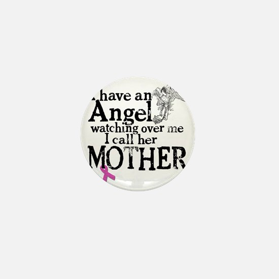 8-mother angel Mini Button