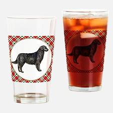 Flat Coated Retriever Drinking Glass