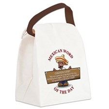 MWOD-ChickenStrip.gif Canvas Lunch Bag