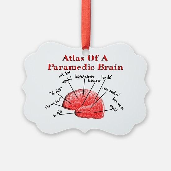 Atlas of a Paramedic Brain Ornament