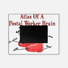 Atlas of a Postal Worker Brain Picture Frame
