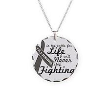 survivor Necklace Circle Charm