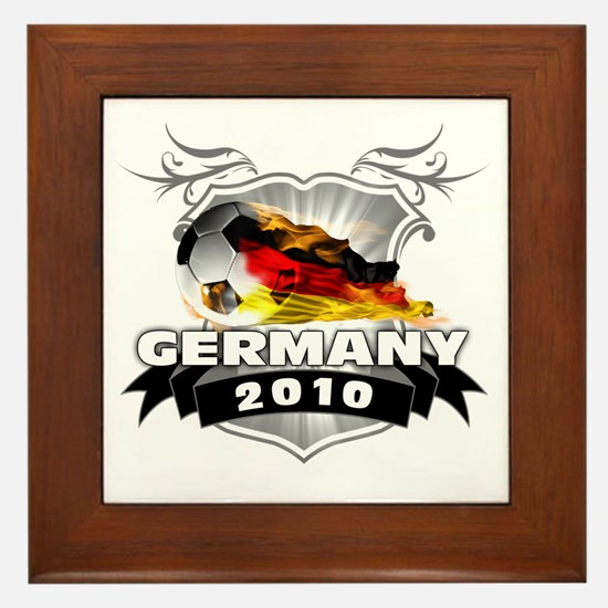 GERMANY World Cup 2010 Framed Tile